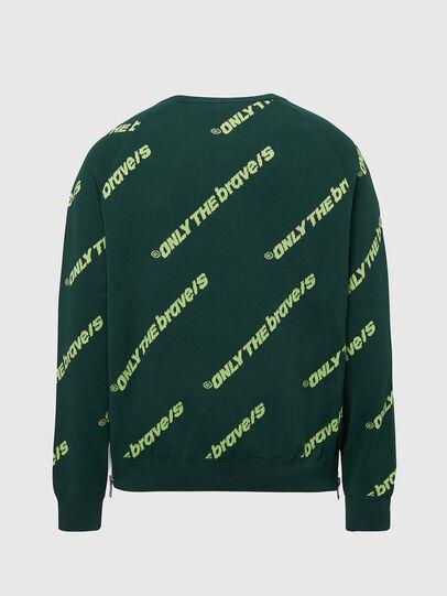Diesel - K-DAVIS, Dark Green - Knitwear - Image 2