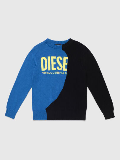 Diesel - KHALF, Blue/Black - Knitwear - Image 1