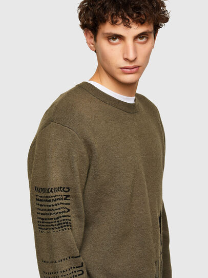 Diesel - K-MARRA, Military Green - Knitwear - Image 3
