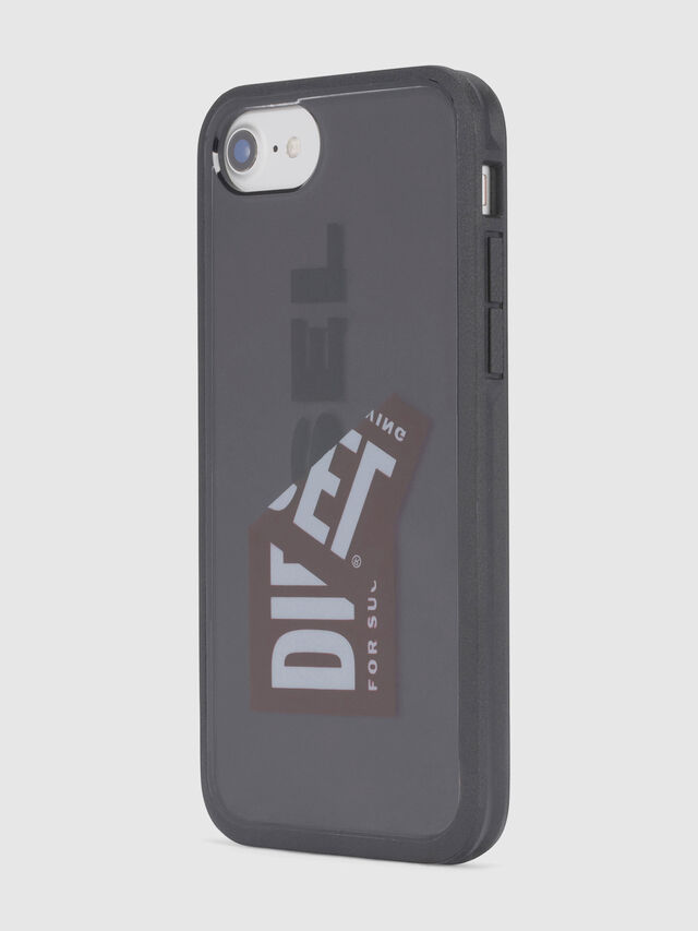 Diesel - STICKER IPHONE 8/7/6S/6 CASE, Black - Cases - Image 4