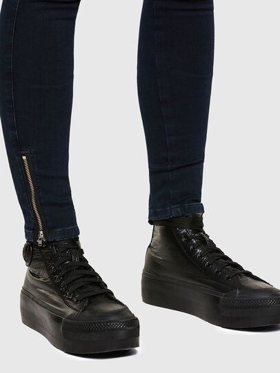 Diesel - Slandy Low 009PV, Dark Blue - Jeans - Image 5