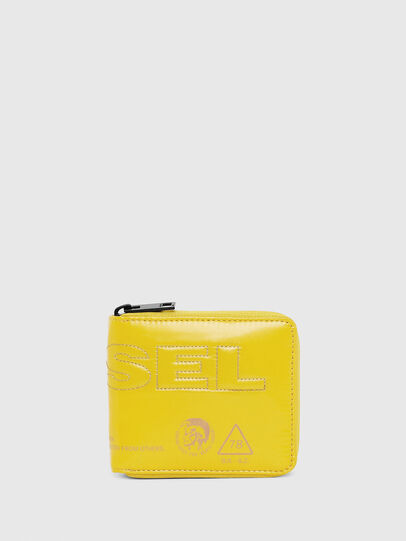 Diesel - ZIPPY HIRESH S, Yellow - Zip-Round Wallets - Image 2
