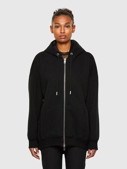 Diesel - F-GLORIOUS, Black - Sweaters - Image 1