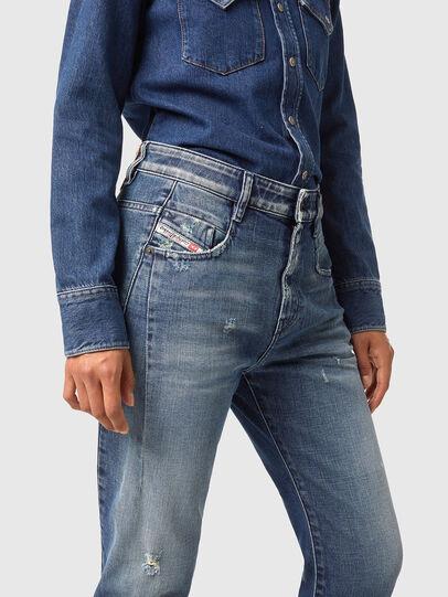 Diesel - Fayza 09A54, Medium blue - Jeans - Image 3
