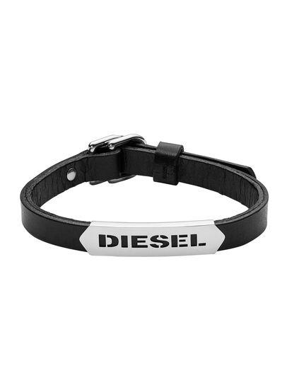 Diesel - BRACELET DX0999, Black - Bracelets - Image 1