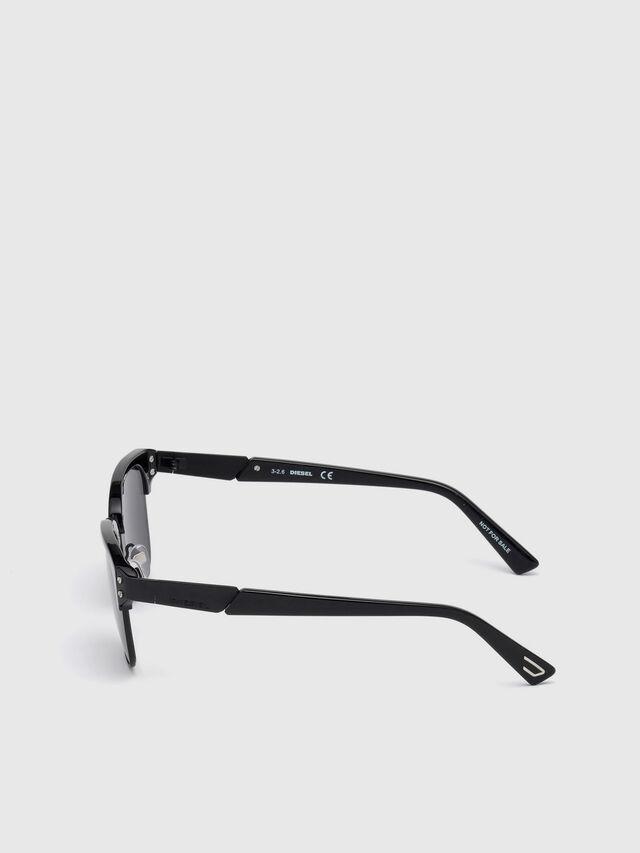 Diesel DL0235, Black - Eyewear - Image 3