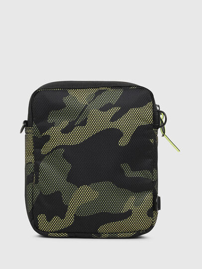 Diesel - ODERZO, Green Camouflage - Crossbody Bags - Image 2