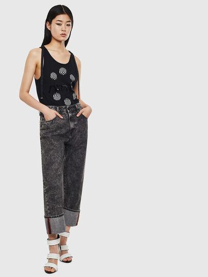 Diesel - D-Reggy 0099F, Black/Dark grey - Jeans - Image 4