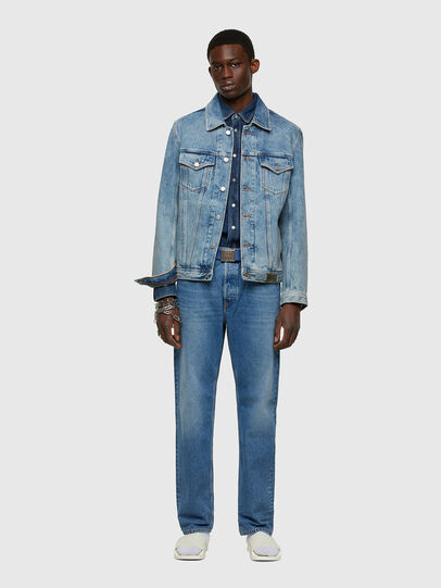 Diesel - NHILL-C1, Light Blue - Denim Jackets - Image 7