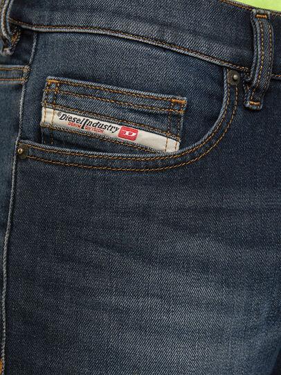 Diesel - D-Luster 009EM, Dark Blue - Jeans - Image 4