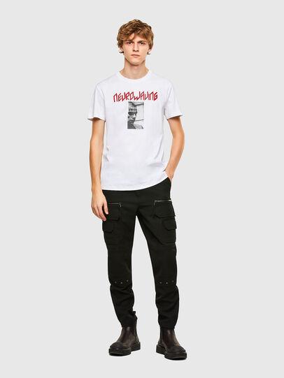Diesel - T-IEGO, White - T-Shirts - Image 5