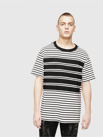 Diesel - T-WALLACE-STRIPE,  - T-Shirts - Image 1