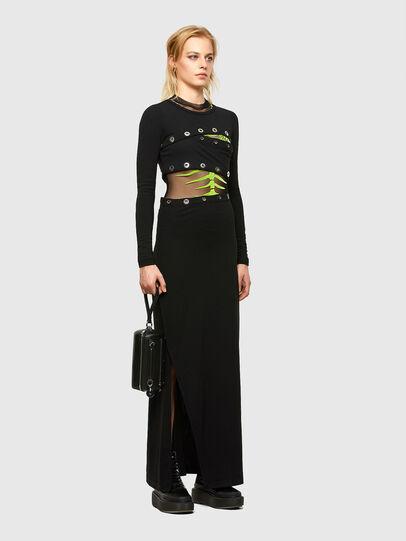Diesel - D-RASPERY, Black - Dresses - Image 6