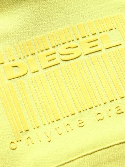 Diesel - SGIRKHOODCODE OVER, Green Fluo - Sweaters - Image 3