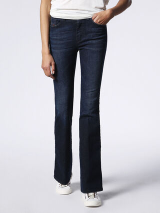 SKINZEE-FLARE H 0681G, Blue jeans