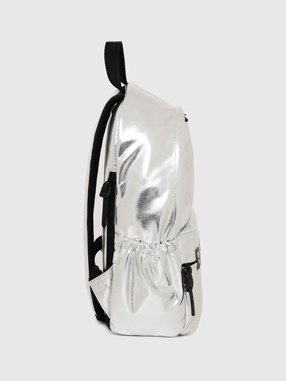 Diesel - F-BOLD BACK II, Silver - Backpacks - Image 2