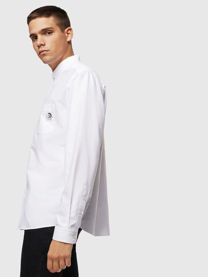 Diesel - S-JAMES, White - Shirts - Image 4