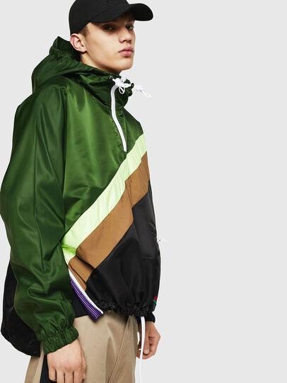 Diesel - J-ANTY, Green/Black - Jackets - Image 3