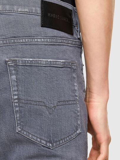 Diesel - D-Luster 009PB, Light Grey - Jeans - Image 4