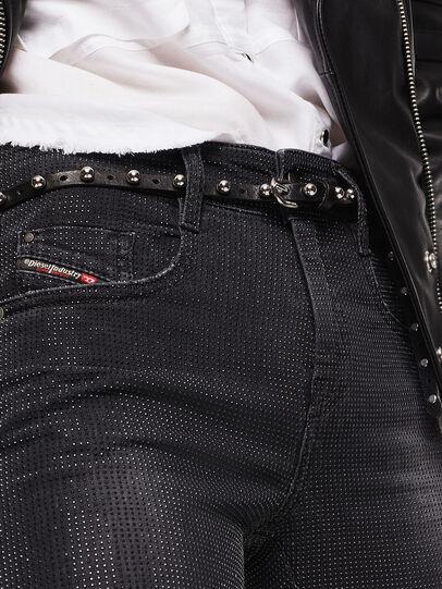 Diesel - D-Ollies JoggJeans 0093H, Black/Dark grey - Jeans - Image 3