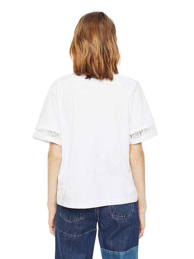 Diesel - TREENA, White - T-Shirts - Image 2