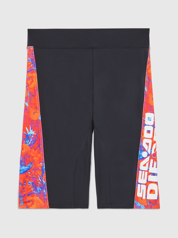 BFPN-CYCLERDOO, Black/Orange - Swim shorts