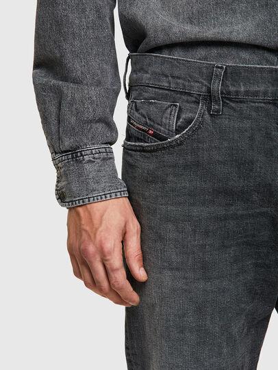 Diesel - D-Kras 09A3A, Black/Dark grey - Jeans - Image 3