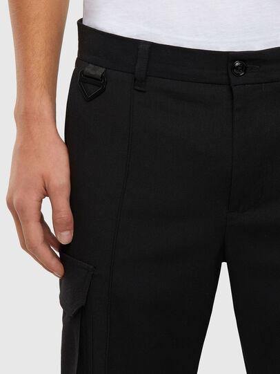 Diesel - P-SONG, Black - Pants - Image 3
