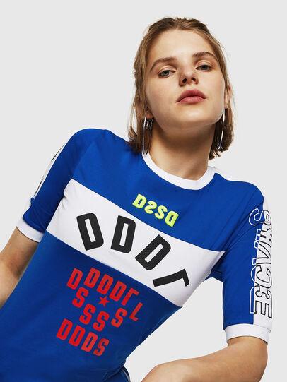 Diesel - T-HEIA-B, Brilliant Blue - T-Shirts - Image 3