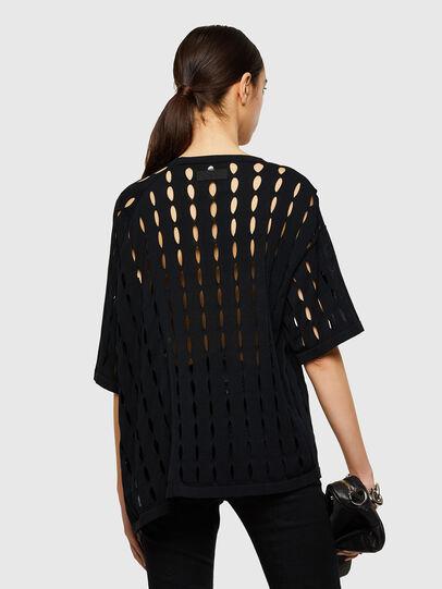 Diesel - M-SILICON, Black - Knitwear - Image 2