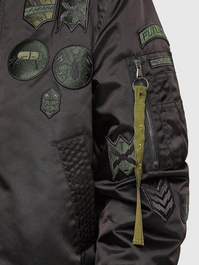Diesel - W-LOVICH, Black - Jackets - Image 6