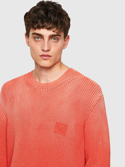 Diesel - K-KENTUCKY, Orange - Knitwear - Image 3