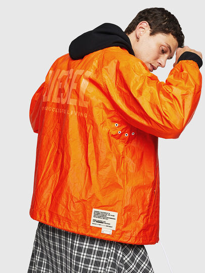Diesel - J-AKINATOR-TVK, Orange - Jackets - Image 5