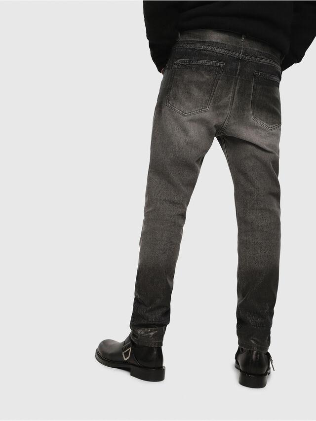 Diesel - D-Aygle 089AU, Black/Dark grey - Jeans - Image 2
