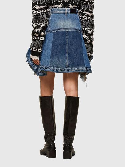 Diesel - OMYNRA, Light Blue - Skirts - Image 2
