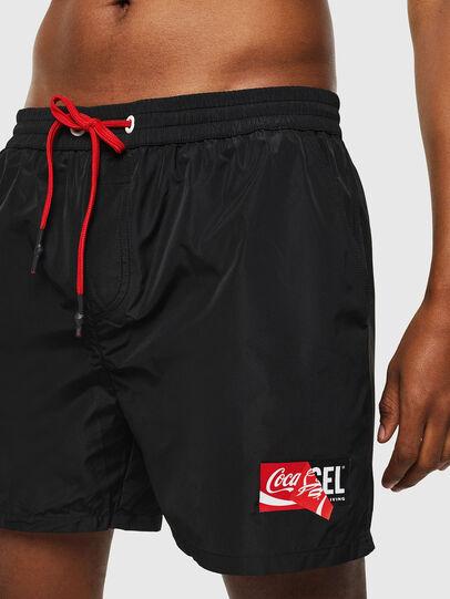 Diesel - CC-WAVE-COLA, Black - Swim shorts - Image 3