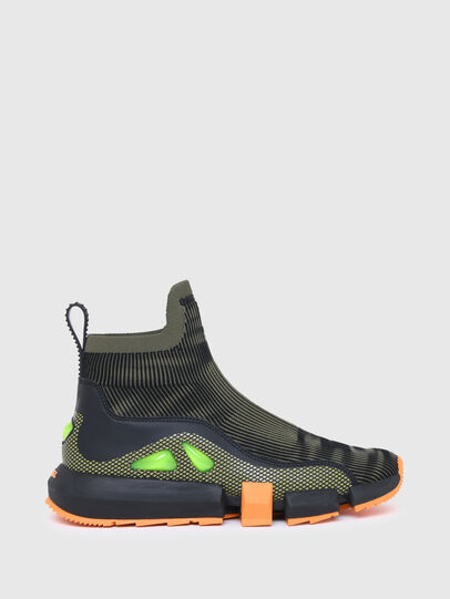 Diesel - H-PADOLA MID TREK, Military Green - Sneakers - Image 1
