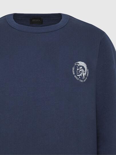 Diesel - UMLT-WILLY, Blue Marine - Sweaters - Image 3