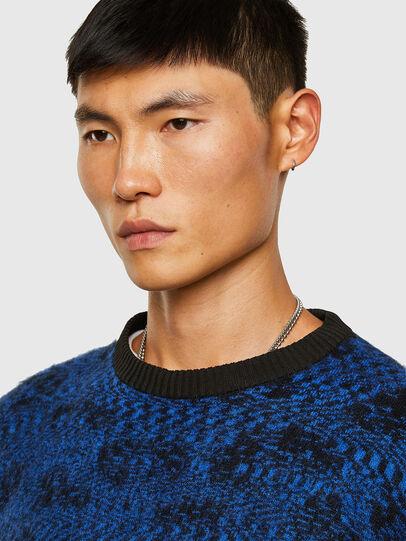 Diesel - K-AZOTIC, Black/Blue - Knitwear - Image 3