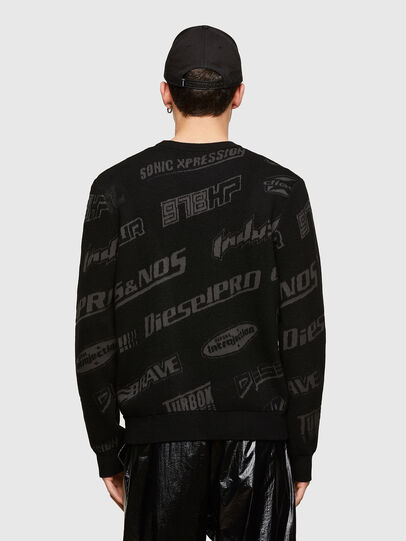 Diesel - K-NICKEL, Black - Knitwear - Image 2