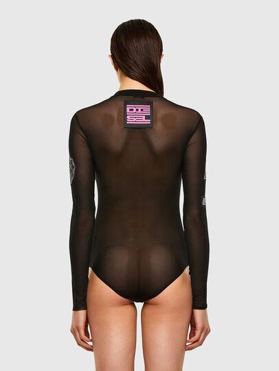 Diesel - UFTK-VALERIE, Black - Bodysuits - Image 2