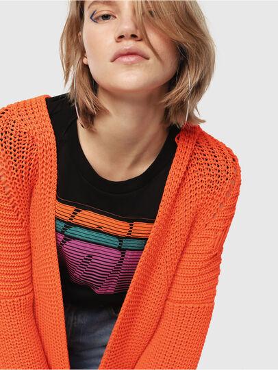 Diesel - M-CRI, Orange - Knitwear - Image 3