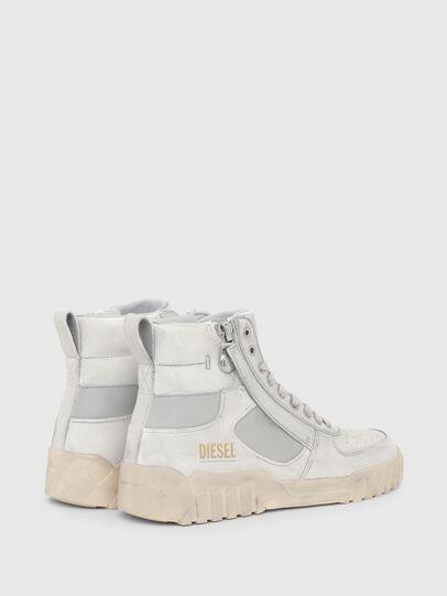 Diesel - S-RUA MID SK, White - Sneakers - Image 3
