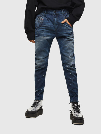 Diesel - Fayza JoggJeans 083AS, Dark Blue - Jeans - Image 1