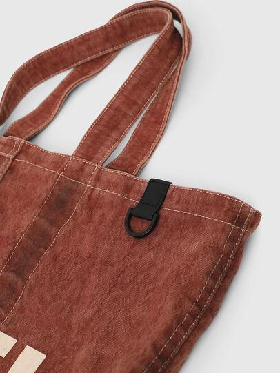 Diesel - GRANYTO SHOPPER M, Orange - Shopping and Shoulder Bags - Image 5