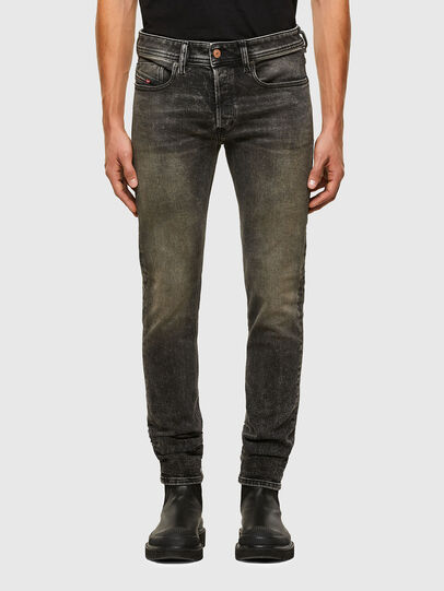 Diesel - Sleenker 009IS, Black/Dark grey - Jeans - Image 1