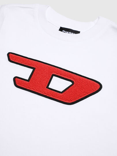 Diesel - TJUSTDIVISIONB-D-R, White - T-shirts and Tops - Image 3