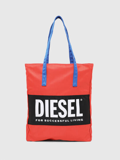 Diesel - BBAG-TOTE, Red - Beachwear accessories - Image 1