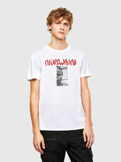 Diesel - T-IEGO, White - T-Shirts - Image 1
