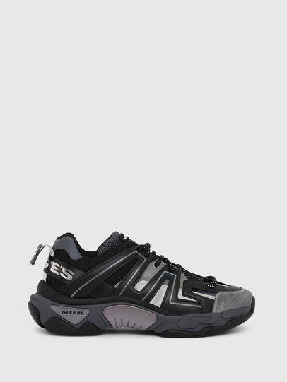 Diesel - S-KIPPER LOW TREK, Black - Sneakers - Image 1